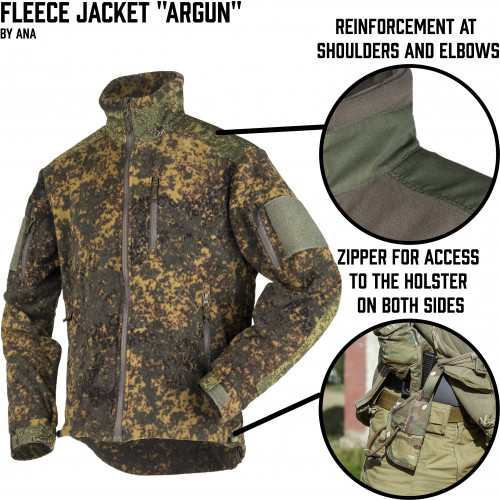 "Fleece Jacket ""Argun"""