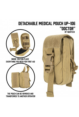 Detachable Medical Pouch