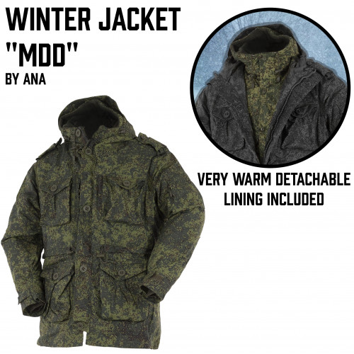 "Winter Jacket ""MDD"""