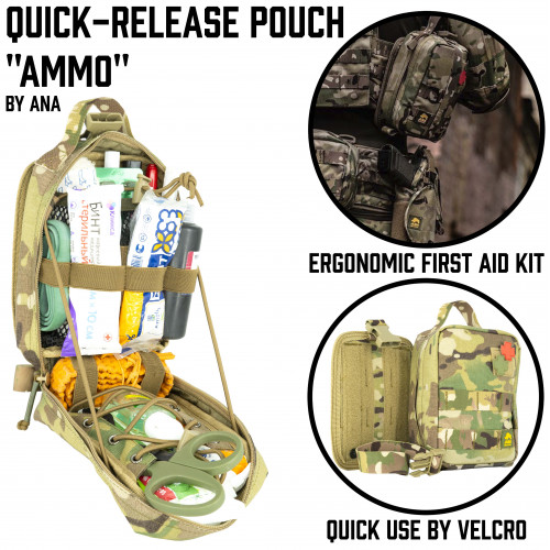 "Quick-Release Pouch ""Ammo"""